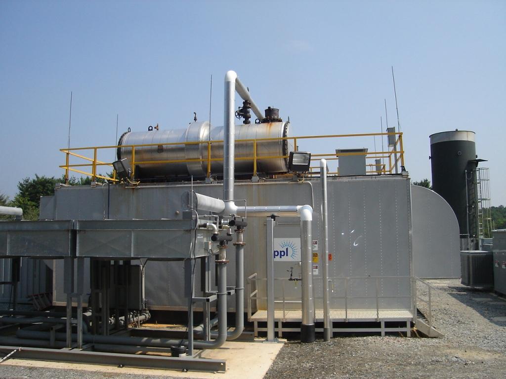 Landfill Gas Plat