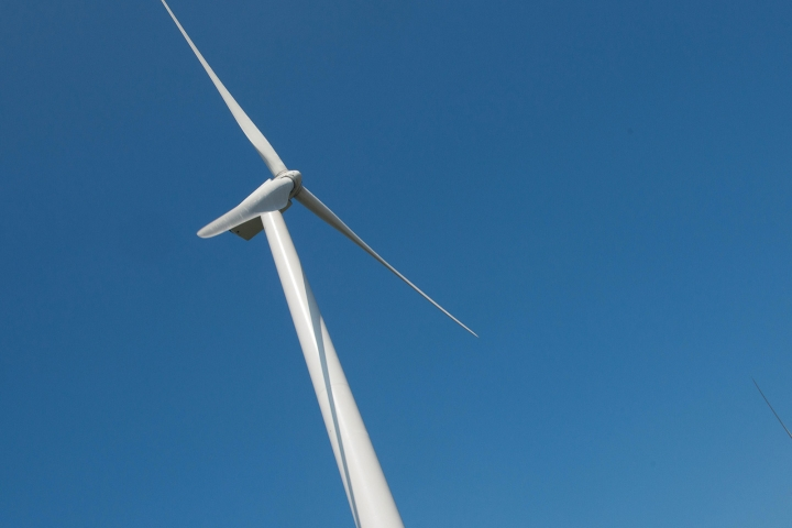The windmill at the Frey Farm Landfill